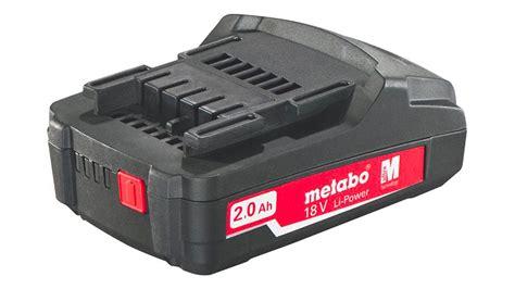 test batteria test et avis batterie sans fil metabo 18 v 2 0 ah