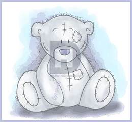 how to draw tatty teddy the me to you bear step by step