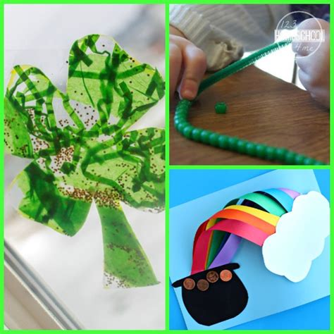 st patricks day kid crafts 30 st s day crafts activities and snacks