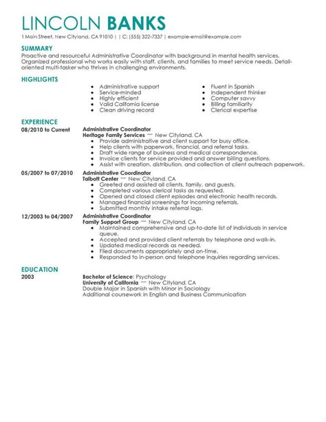 Admissions Coordinator Resume by Admissions Coordinator Resume Resume Ideas