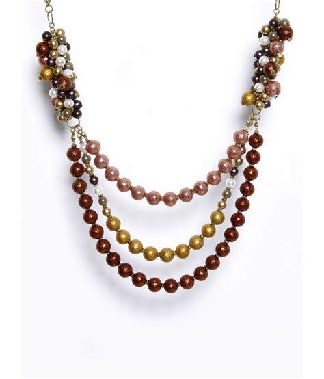 Three String Choker zurii three string multi pearl necklace buy zurii three