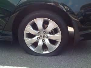 honda accord flat tire weakonomics