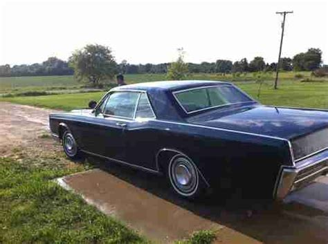 2 Door Lincoln by Purchase Used 1966 Lincoln Continental 2 Door Coupe In