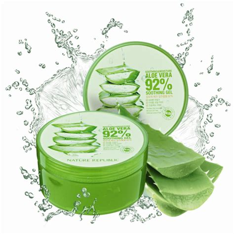 Nature Republic Aloe Vera Soothing Gel Korea nature republic madeinkorea