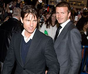 Posh Laughs Scientology Rumors by Tom Cruise David Beckham In The Act Shocking