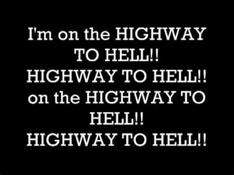 testo highway to highway to ac dc testo traduzione e