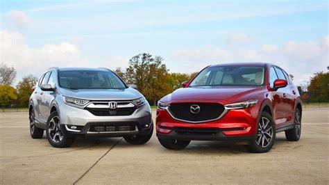 Mazda Cx 5 Vs Honda Cr V Review by Honda Cr V Vs Mazda Cx 5 The And The Of Suvs