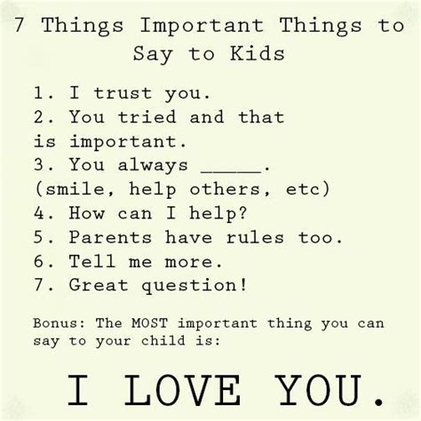 7 Things To Say And Do When The Feelings Not 7 important things to say to