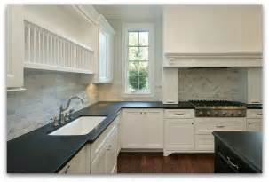 White Kitchen Cabinets With Black Granite Countertops Black And White Backsplash For Granite Countertops Cabinets