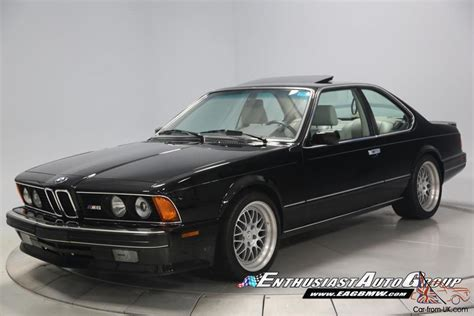 1988 bmw m6 1988 bmw m6 only 5 952 concours investment grade
