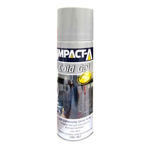 spray painting in the cold impact a cold gal cold galvanising spray paint 370g