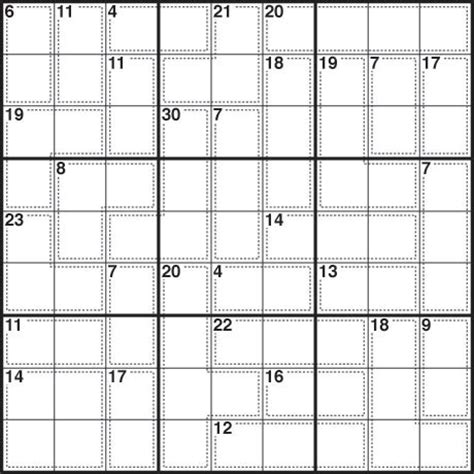 printable daily killer sudoku hard sudoku printable hard killer sudoku puzzlehard