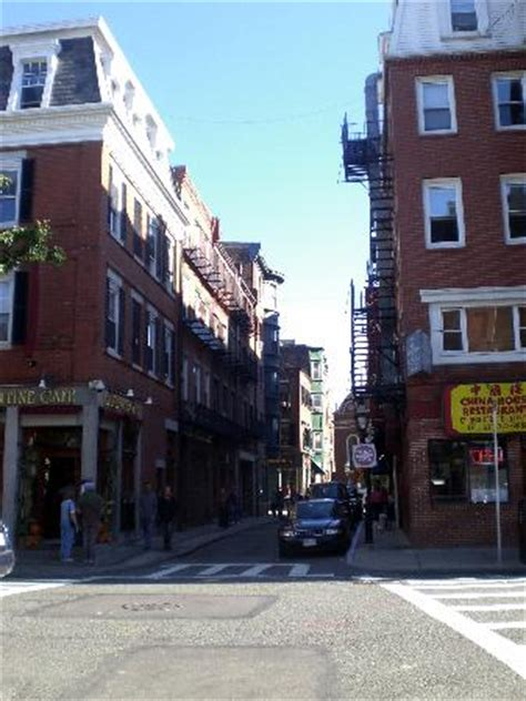 The Irish Section Of Old Boston Picture Of North End