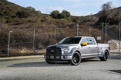 widebody truck 2015 ford f 150 gets widebody kit and forgiato wheels