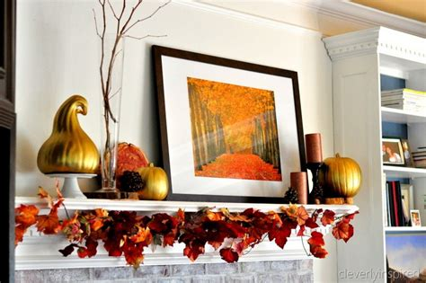 decorating mantels for fall decorating a mantle for fall
