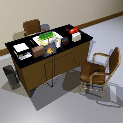 desk prop 01 3ds