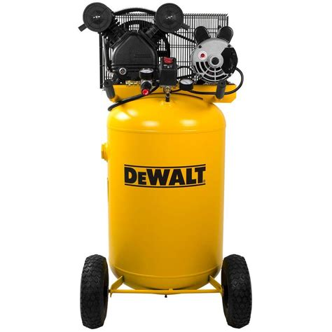 dewalt 30 gal 155 psi 1 6 hp portable electric air