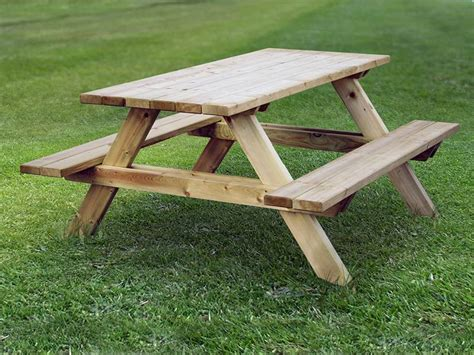 new wooden cool designed picnic table quality timber zest
