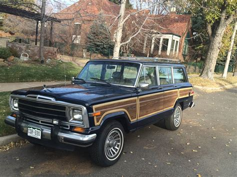jeep wagoneer for sale 1988 jeep grand wagoneer for sale in denver colorado 12 5k