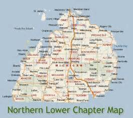 Northern Michigan Map by Similiar Map Of Lower Mich Keywords