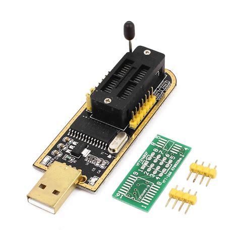 Usb Programer Ch341a usb programmer ch341a series burner chip 24 eeprom bios lcd writer 25 spi flash for sale