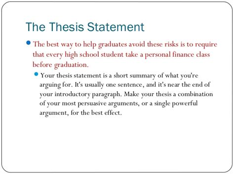 persuasive thesis statement graduation speech ideas for elementary school sle