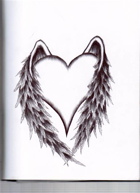 winged heart tattoo designs tattoos and designs page 68