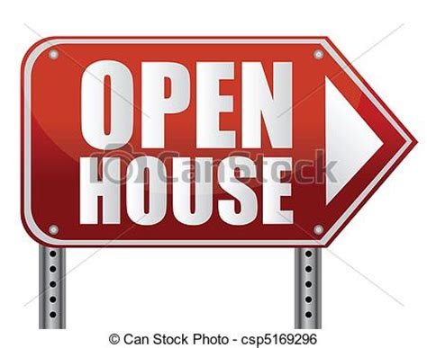 Open House Finder by Clip Vector Of Open House Sign Isolated A White Background Csp5169296 Search Clipart