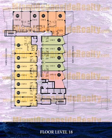 fontainebleau floor plan fontainebleau iii sorrento miami beach condos
