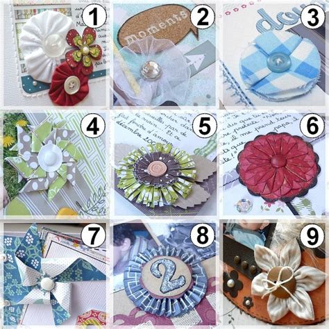Handmade Embellishments For Scrapbooking - 1000 images about cards embellish finishing elements of