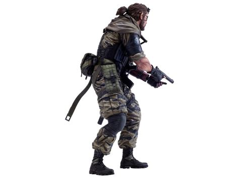 First4figures Mgs Solid Snake Statue Menshdge Technical Statue No 16 Metal Gear Solid V The