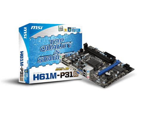 reset bios msi h61m p31 overview for h61m p31 g3 motherboard the world
