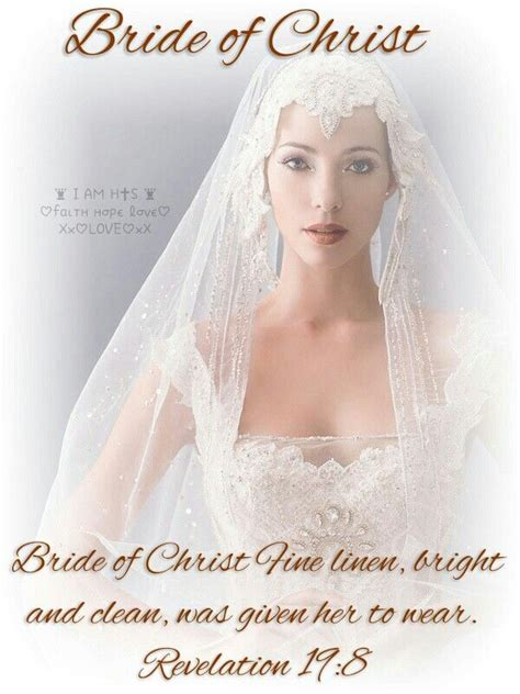 braut christi bride of christ fine linen bright and clean was given