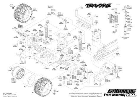 traxxas rustler parts diagram traxxas slash front end diagram rustler vxl diagram