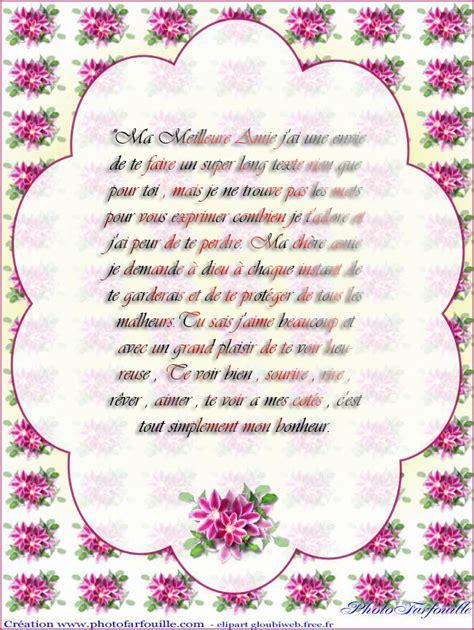 Modeles De Lettres Pour Anniversaire Modele Lettre Anniversaire A Une Amie