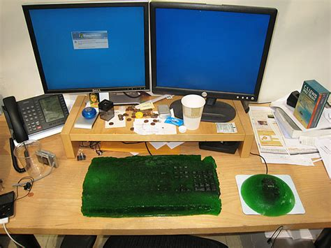 Office Prank Ideas Desk 25 Brilliant Prank Ideas For April Fools Day Bored Panda