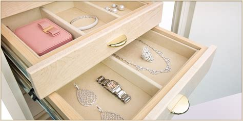 Custom Jewelry Drawer Inserts by Jewelry Drawer Inserts Brown Safe Mfg
