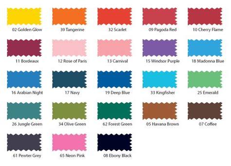 dylon multi purpose dyes colour charts