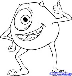 how to draw doodle draw how to draw mike wazowski step by step characters pop