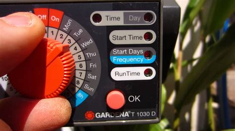 gardena water automatic system youtube