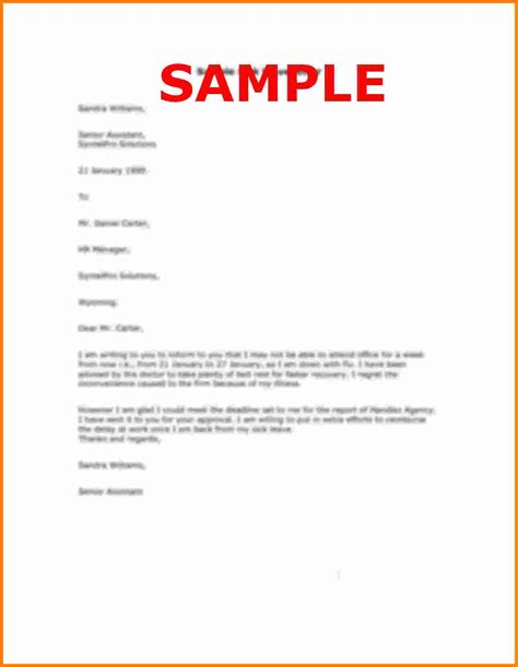 letter format personal sle reason leave letterg casual application form home design idea