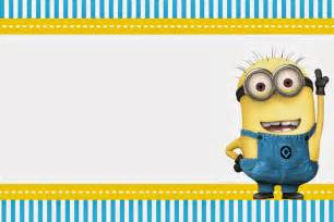 Minion Card Template by 40th Birthday Ideas Birthday Invitation Template Minions