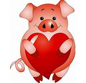 Valentine Cute Animals Vector Free / 4Vector