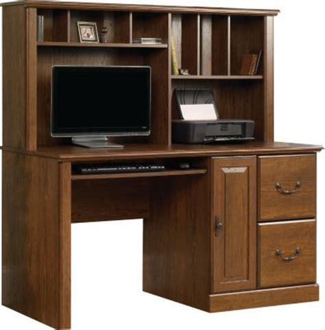 sauder orchard computer desk hutch homemakers