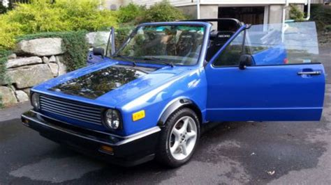 1982 Volkswagen Rabbit Convertible by Purchase Used 1982 Vw Rabbit Convertible 2 0l 16v Dual