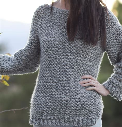 how to crochet a sweater free crochet patterns that look knit sewrella