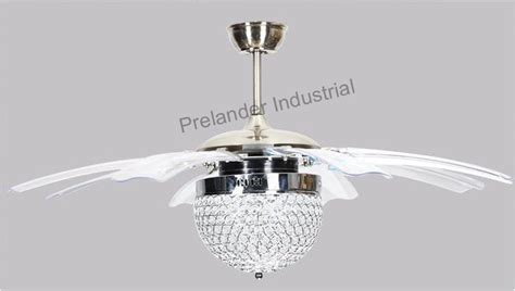 ceiling fan with foldable blades 42inch modern led ceiling fans foldable invisible blades