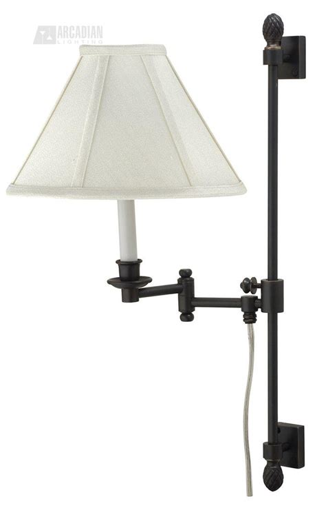 swing arm lights house of troy ll662a library ll662a collection