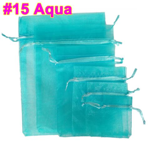 Organza Gift Bags - 50pcs luxury organza gift bags wedding favour