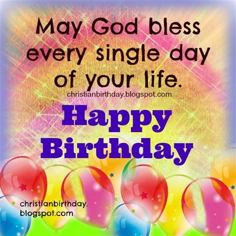 Happy Birthday God Bless You Quotes Christian Birthday Free Cards April 2015